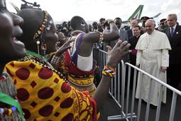 KENYA-VATICAN-POPE-AFRICA