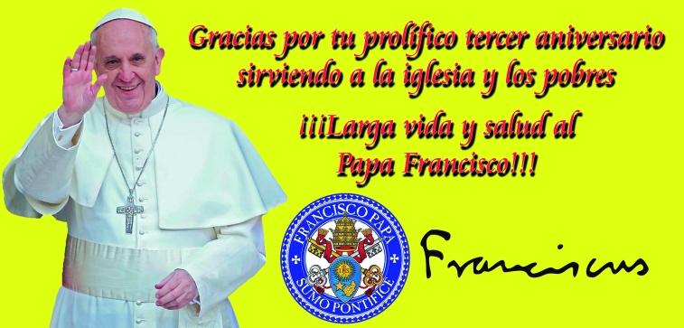 aniversario pontificio Papa Francisco Habemus Papam Jorge Mario Bergoglio